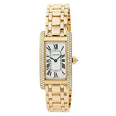 Cartier Tank Americaine Quartz Female Watch WB7043JQ (Certified Pre-Owned) from Cartier