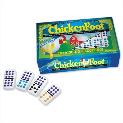 Puremco Double 9 Dominoes Chickenfoot