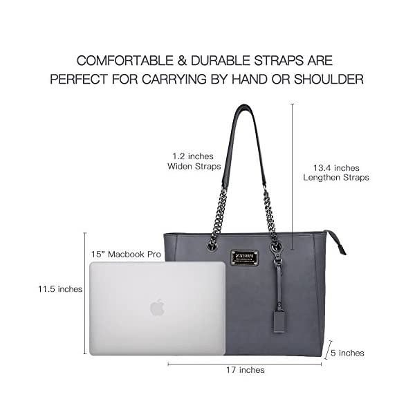 ZYSUN-Laptop-Tote-Bag-Fits-Up-to-156-in-Wonderful-Gifts-for-Women