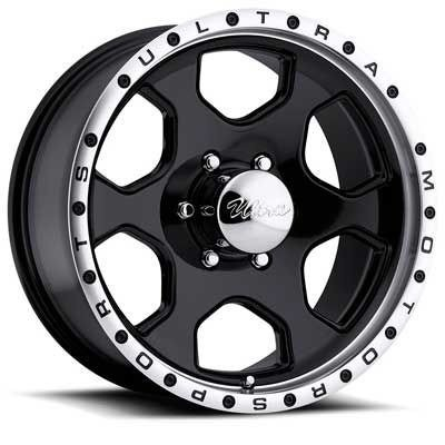 Ultra Rogue 17 Black Wheel / Rim 6x135 with a 25mm Offset and a 87 Hub Bore. Partnumber 175-7863B