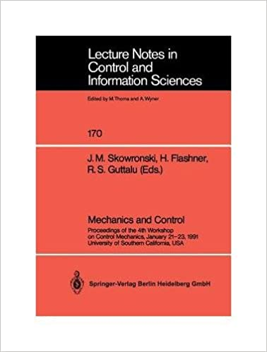 Ebook pour le téléchargement mobile Mechanics and Control. Proceedings of the 4th Workshop on Control Mechanics, January 21-23, 1991, University of Southern California, USA. Lecture Notes in Control and Information Sciences, 170 PDF FB2 B007RCH36S