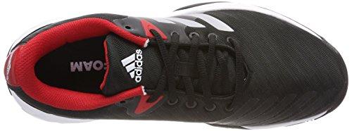 Scarpe Da Tennis Adidas Uomo 3 Tennis Scarpe Nere (negbas / Ftwbla / Escarl 000)