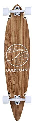 (GOLDCOAST The Classic Zebra Pintail Complete Longboard)