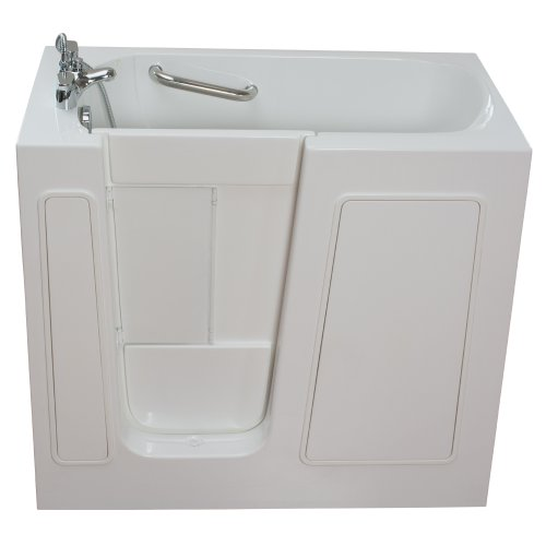 "Ella Small 45"" Long Air & Hydro Massage Walk In Bath (264..."