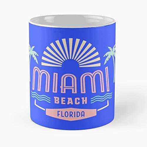 Miami Miam - Morning Coffee Mug Ceramic Best -