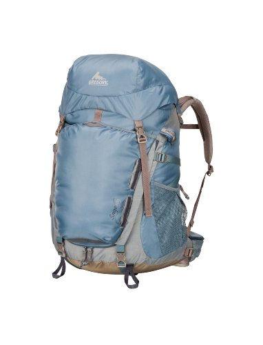Gregory Sage 55 Backpack, Tule Blue, X-Small, Outdoor Stuffs
