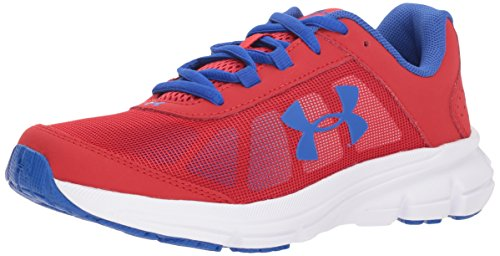 Under Armour Kids' Grade School Rave 2 Sneaker,Red (601)/White,3.5 M US by Under Armour (Image #1)