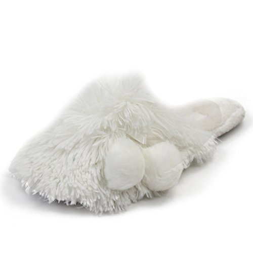Long On Solid Slip TPR Womens Sole Snow Gohom Slippers House Durable Fashion Indoor Fur For Warm Shoes Home PwxBxCHqE