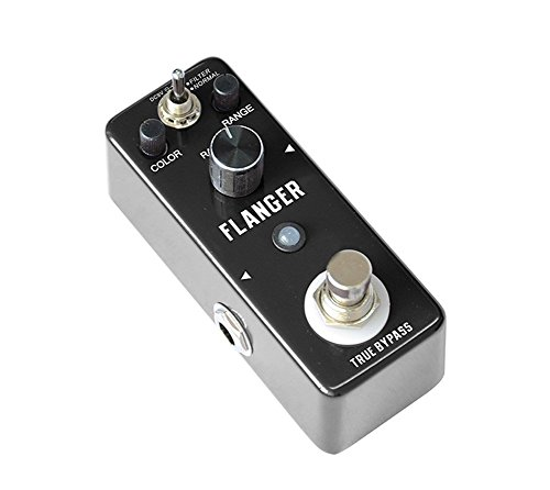 Rowin Classic Analog Flanger Guitar Effect Pedal by Rowin