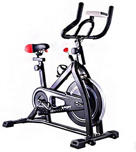 LSYOA Bicicleta Estática, Correa Stationary Indoor Bicicleta ...