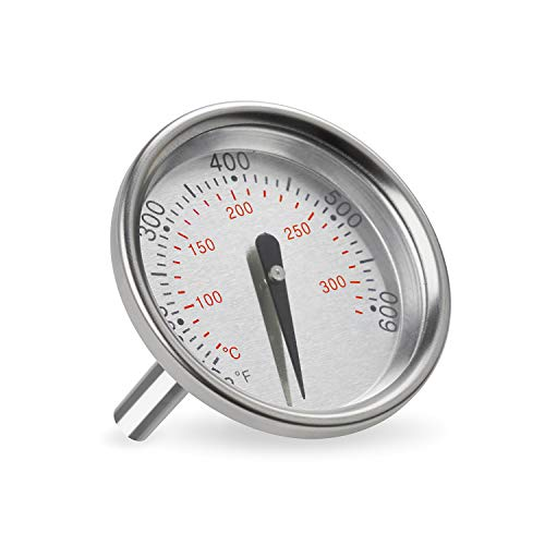 GASPRO 60540 Charcoal, Spirit, Q Grill Thermometer Replacement for Weber Q100 Q200 Q120 Q220 Q300 Q320, Spirit 200/300 E/S-210 E/S-310 E/S-320,1-13/16