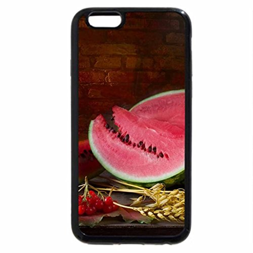 iPhone 6S / iPhone 6 Case (Black) WATERMELON FEAST
