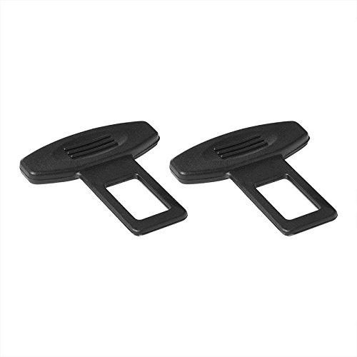 ProPlus 240157 2 Stück Gurtalarm Gurtadapter Gurt Schnalle Gurtschloss Gurt-Clip Anschnallwarner