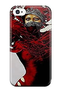 For Iphone 4/4s Tpu Phone Case Cover Camilla