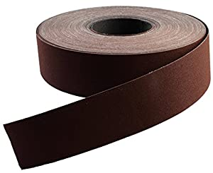 "1"" x 50 Yard Shop Roll Aluminum Oxide Grit: 100"