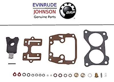 Johnson Evinrude Outboard Engine Part# 439076 Premium Carburetor Repair Kit BRP# 777718