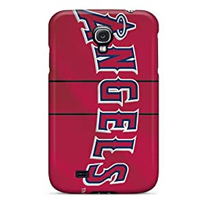 Marycase88 Samsung Galaxy S4 Scratch Resistant Cell-phone Hard Covers Support Personal Customs Stylish Los Angeles Angels Image [AMp8431gBIN]