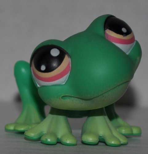 Retired Loose OOP Out of Package /& Print Hasbro LPS Collectible Replacement Figure Magic Motion: Green, Orange Eyes, Motion Legs Collector Toy - Littlest Pet Shop Frog #236