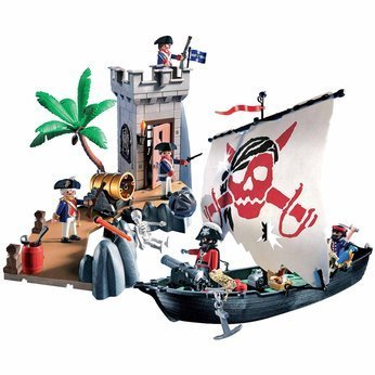 Playmobil Pirate Ship - 8