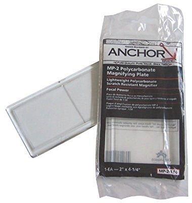 Polycarbmag Lens (Anchor 2X4-1/4 Polycarbmag Lens .75)