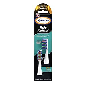 ARM & HAMMER Spinbrush Truly Radiant Sonic Battery Toothbrush Refills