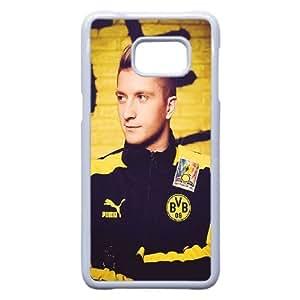 Samsung Galaxy S6 Edge Plus Cell Phone Case White Marco Reus DY7690581