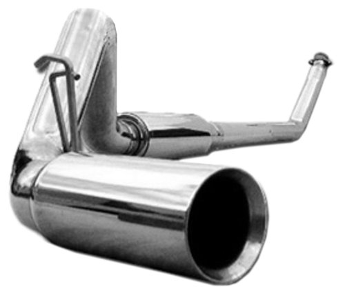 MBRP S6100304 T304 Stainless Steel Turbo Back Single Side Exhaust ()