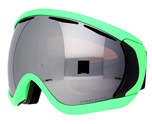 Oakley Canopy 80 Ski Goggles, Green Collection/Prizm Black - Goggles Oakley Canopy