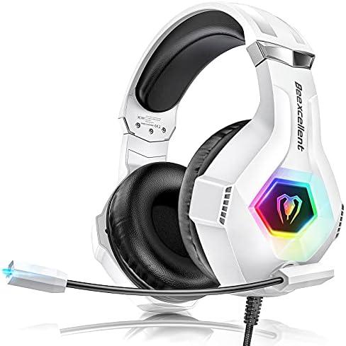 Cascos Gaming PS4, Auriculares con Microfono