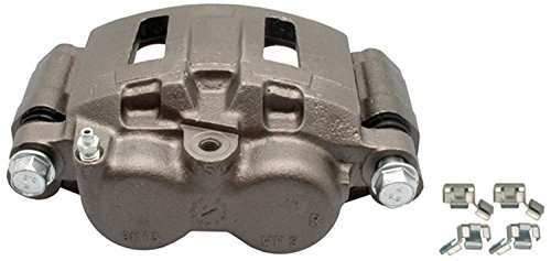 ACDelco 18FR1372 Professional Front Passenger Side Disc Brake Caliper Assembly without Pads (Friction Ready Non-Coated), Remanufactured