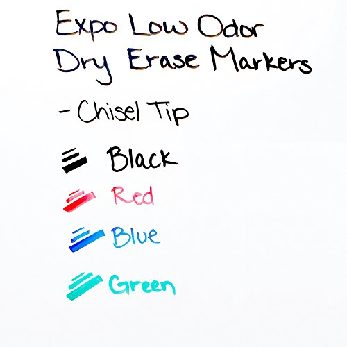 EXPO Dry Erase Marker Starter Set, Chisel Tip, Assorted Colors, 6 Piece by Expo (Image #3)