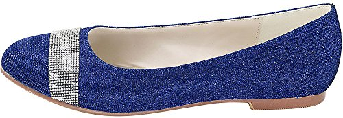 Compensées EU Bleu Find Sandales 36 Bleu 5 Femme Nice RAR8xBE