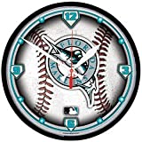 Florida Marlins Wall Clock