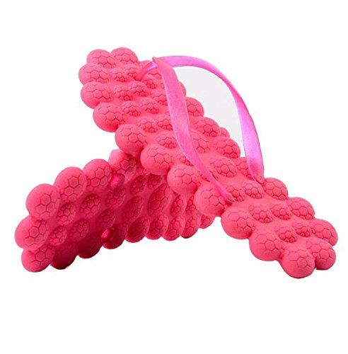 Casuale Scarpe Bagno Sandalo Giallo Elunla Bluelover Donna Pantofole Caramelle Sabbia Spiaggia 5 Rosa Colore Liscio Massaggio Estivo FwfgvfAq