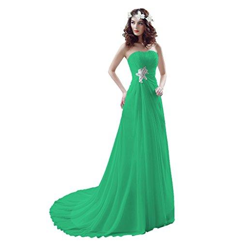 Vimans Damen A-Linie Kleid Green 1 gVflrS0k