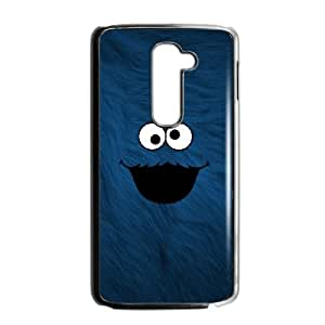 LG G2 Cell Phone Case Black Cookie Monster ncdf