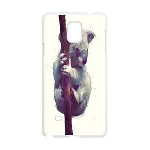 Fun Series, Samsung Galaxy Note 4 Cases, Koala Cases for Samsung Galaxy Note 4 [White]