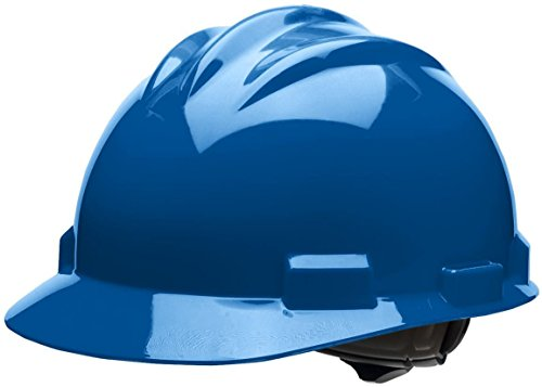 Bullard 61KBR  Standard Series Cap Style Hard Hat, 4 Point Suspension Ratchet, Cotton Brow Pad,  Kentucky Blue, One - Hat Standard Size