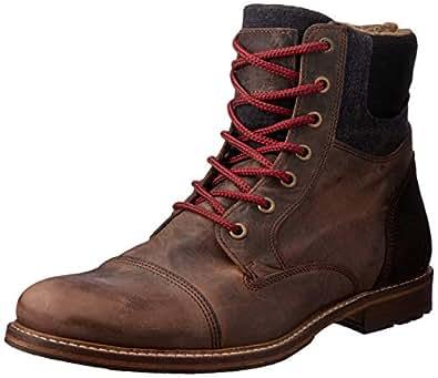 Wild Rhino Men's Highland Boots, Brown (Dark Brown), 40 EU