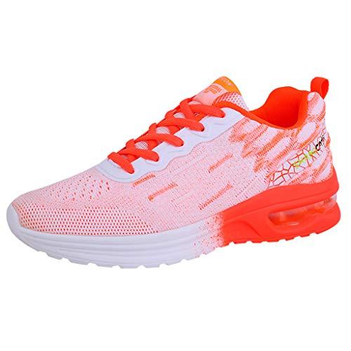 〓COOlCCI〓Women's Memory Foam Slip On Walking Tennis Shoes Lightweight Gym Jogging Sports Athletic Running Sneakers New ()