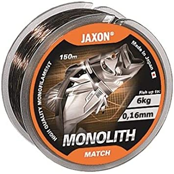 Jaxon Angelschnur Satori Match 150m 0,12mm-0,25mm Spule Monofile Schnur