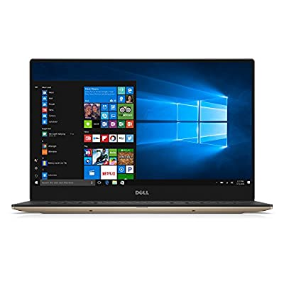 """Dell XPS9360-7727GLD-PUS 13.3"""" Laptop, 7th Gen Core i7 (up to 3.8 GHz), 8GB, 256GB SSD, Intel Iris Plus Graphics 640, Rose Gold"""