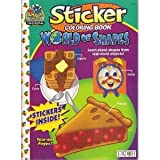 Sticker Coloring Book World of Shapes (Choo Choo Training)