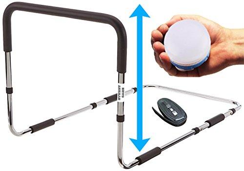 Bed Rails For Elderly With Bonus Magnetic Nightlight