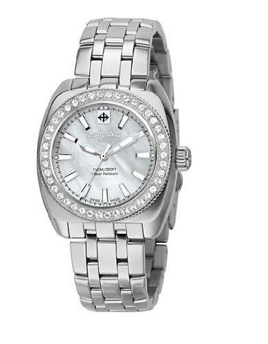 Zodiac Racer Desert Falcon Reloj de pulsera de mujer zs4515: Amazon.es: Relojes