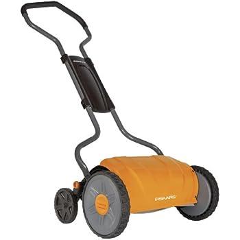 Fiskars 17 Inch Staysharp Push Reel Lawn Mower (6208)