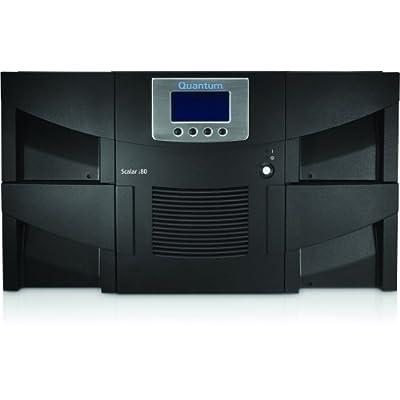 Quantum Scalar i80 Premium with Advanced Features, IBM tape drives - Tape library - 200 TB / 500 TB - slots: 80 - LTO Ultrium ( 2.5 TB / 6.25 TB ) x 2 - Ultrium 6 - max drives: 5 - SAS-2 - rack-mountable - 6U - bar code reader, encryption by O.E.M.