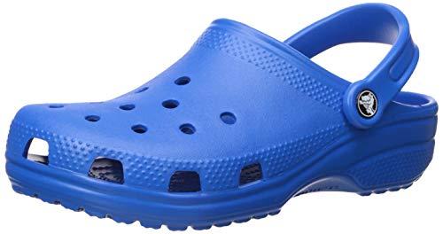 Crocs Classic Clog Adults, Bright Cobalt, 9 M US Women / 7 M US Men