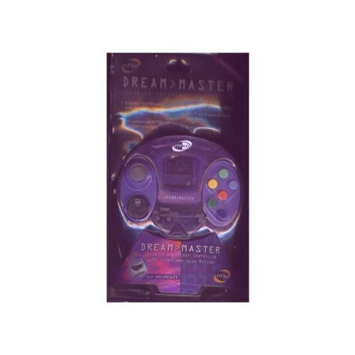 DREAMCAST CONTROLL (PURPLE) DREAM MASTER ADVANCED DREAMCAST CONTROLLER