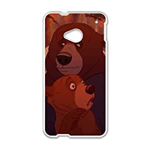Brother Bear 2 HTC One M7 Cell Phone Case White Phone cover V92795398